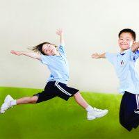 Gymnastic jumping